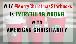 #MerryChristmasStarbucks Blog Photo